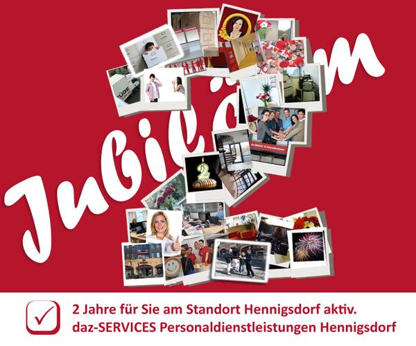 2 Jahre Niederlassung Hennigsdorf